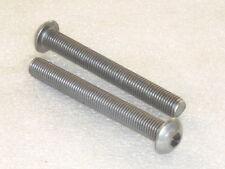 2x M10 x 80mm A2 Stainless Steel Socket Button Screws Metric FINE Thread 1.25mm