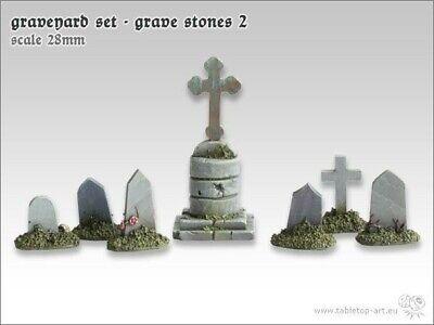 Runensteine Set 1 Tabletop Art Base Gestalltung Gelände 28mm Runen Rune 2