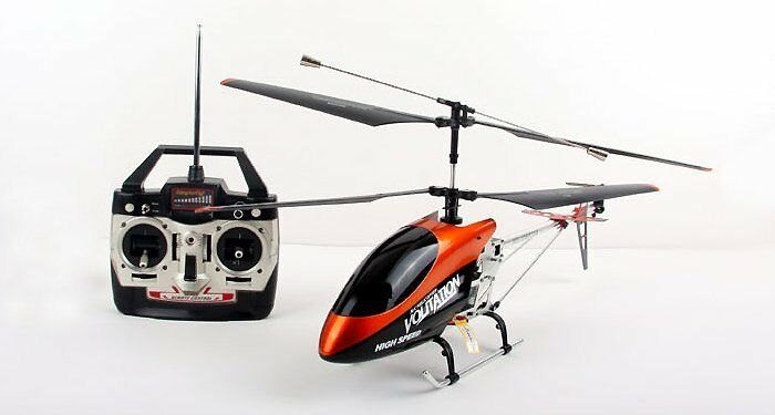 HUGE Metal Remote Control RC Syma 9053 Volitation Alloy 3ch GYRO R C Helicopter