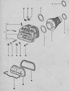 volkswagen beetle    type 1 parts listings manual 1949