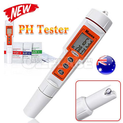 Auto Calibration Digital PH Tester Meter Thermometer Kit Waterproof Pocket Pen