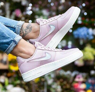nike air force 1 rosa pelle