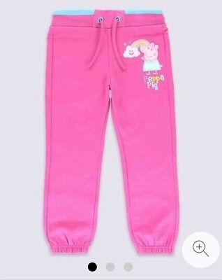 Ben Informato Bnwt Marks & Spencer Rosa Peppa Pig Cotone Pantaloni Sportivi Taglia 5-6 Anni-mostra Il Titolo Originale