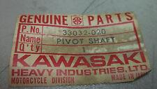 Kawasaki OEM new swing arm pivot shaft bolt 33032-020 H1 Mach III  #4431