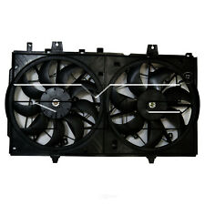 For 2014-2017 Nissan Rogue Dual Radiator and Condenser Fan