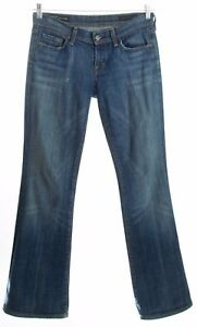 CITIZENS-OF-HUMANITY-Ingrid-Low-Waist-Flare-Dark-Wash-Jeans-Size-28