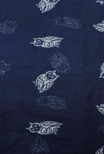 Finecy in-Animale Bird Owl Stampa FASHION Scarf Wrap Chiffon Morbido Grande Luce