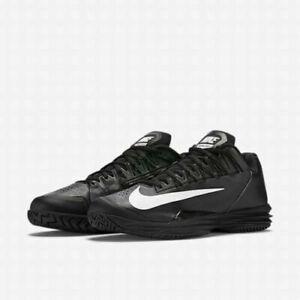 outlet store 232d3 4d382 Image is loading Nike-Nadal-Lunar-Ballistec-1-5-Black-Tennis-