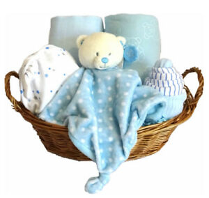 Cestas De Regalo Para Bebes.Detalles De Cesta De Bebe Nino Regalo Cesto Regalo Para Bebe Nino Nuevo Bebe Regalo Baby Shower Ver Titulo Original
