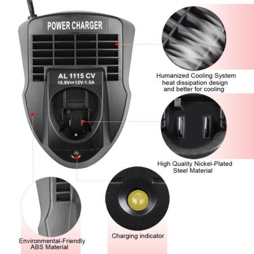 AL1115CV Battery Charger for Bosch 10.8V-12V Electrical Screwdriver Drill Tools