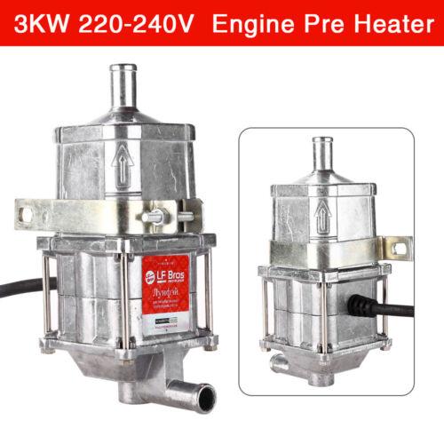 3KW 220-240V 50HZ Car Engine Coolant Heater Parts Air Parking Preheater Anti-dry