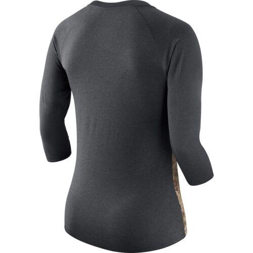 New 887225515867 Nfl Salute York Nike Camo Jets To Womens Service Camisa Raglan RdUaPwq