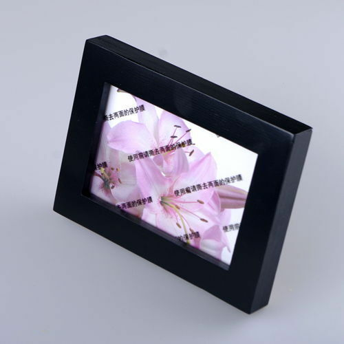 Pine Wood Picture Photo Frames 8 Colors Selectable Gift 2 sizes Destop style New