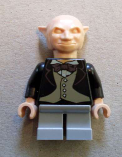 LEGO harry potter-Gobelin (gris jambes) personnage NEUF