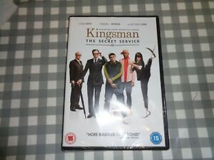 Kingsman-The-Secret-Service-DVD-2015-Samuel-L-Jackson-Vaughn-DIR-cert-15