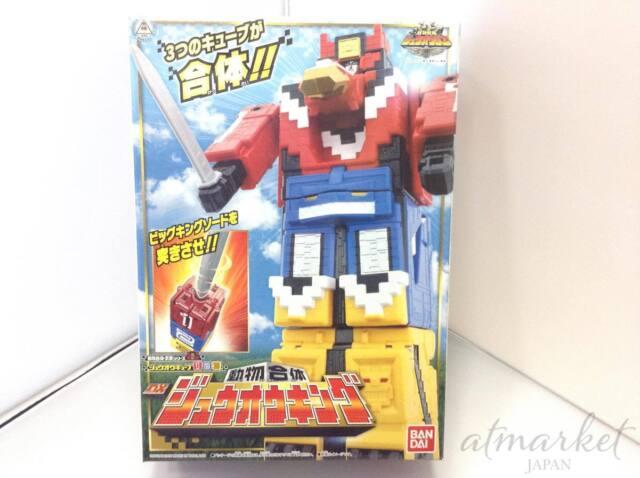 Bandai Power Rangers Doubutsu Sentai Zyuohger Zyuoh Cubo 123 Dx Japón