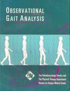 Observational gait analysis by rancho los amigos national observational gait analysis by rancho los amigos national rehabilitation center 2001 paperback fandeluxe Choice Image