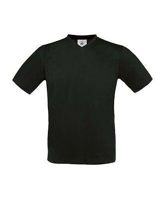 B&C V-Ausschnitt T-Shirt V-Neck Shirt verschiedene Größen und Farben S - XXL