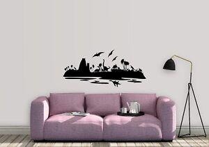 Dinosaur-Island-Inspired-Design-childrens-Kids-Home-Wall-Art-Decal-Vinyl-Sticker