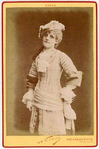 Nadar-Paris-Lea-Dasco-actrice-Vintage-albumen-print-Tirage