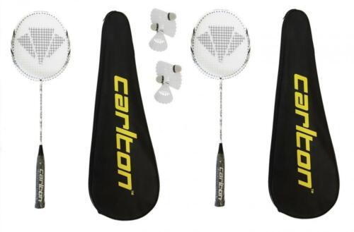 6 Carlton Shuttlecocks RRP £395 2 x Carlton Razorblade Tour Badminton Rackets
