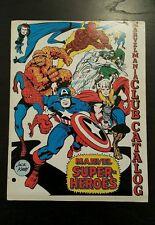 Marvelmania club catalog 1969