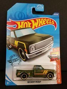 2020-Hot-Wheels-20-250-039-69-Chevy-Pickup-HW-Hot-camiones-10-10-Caja-Envio-Gratis
