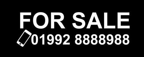 PHONE NUMBER Custom Large Car,Van,Window Vinyl Decal Transfer Sticker FOR SALE