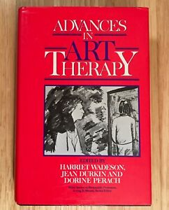 ADVANCES-IN-ART-THERAPY-by-Harriet-Wadeson-HC-DJ-1989