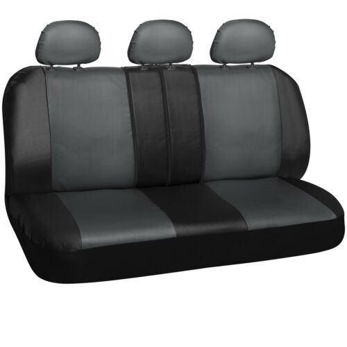 10 Piece PU Leather Seat Cover Complete Set for Car Truck SUV Van