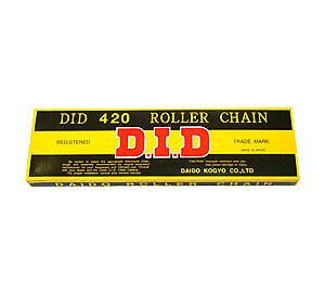 Honda CD185 T 1978 428 x 112 DID D Solid Bush Chain D.I.D.