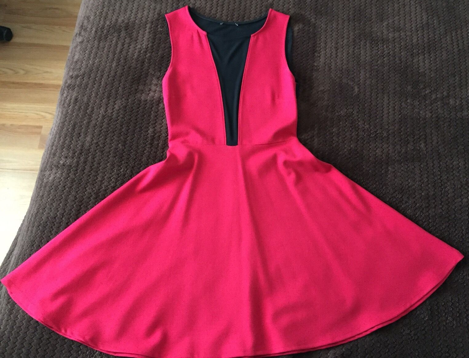Bebe Red  Party Dress Women  Spring Summer Fashion Size Small