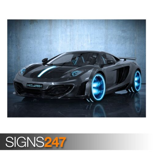 Photo Picture Poster Print Art A0 to A4 MCLAREN MP4-12C AA266 CAR POSTER