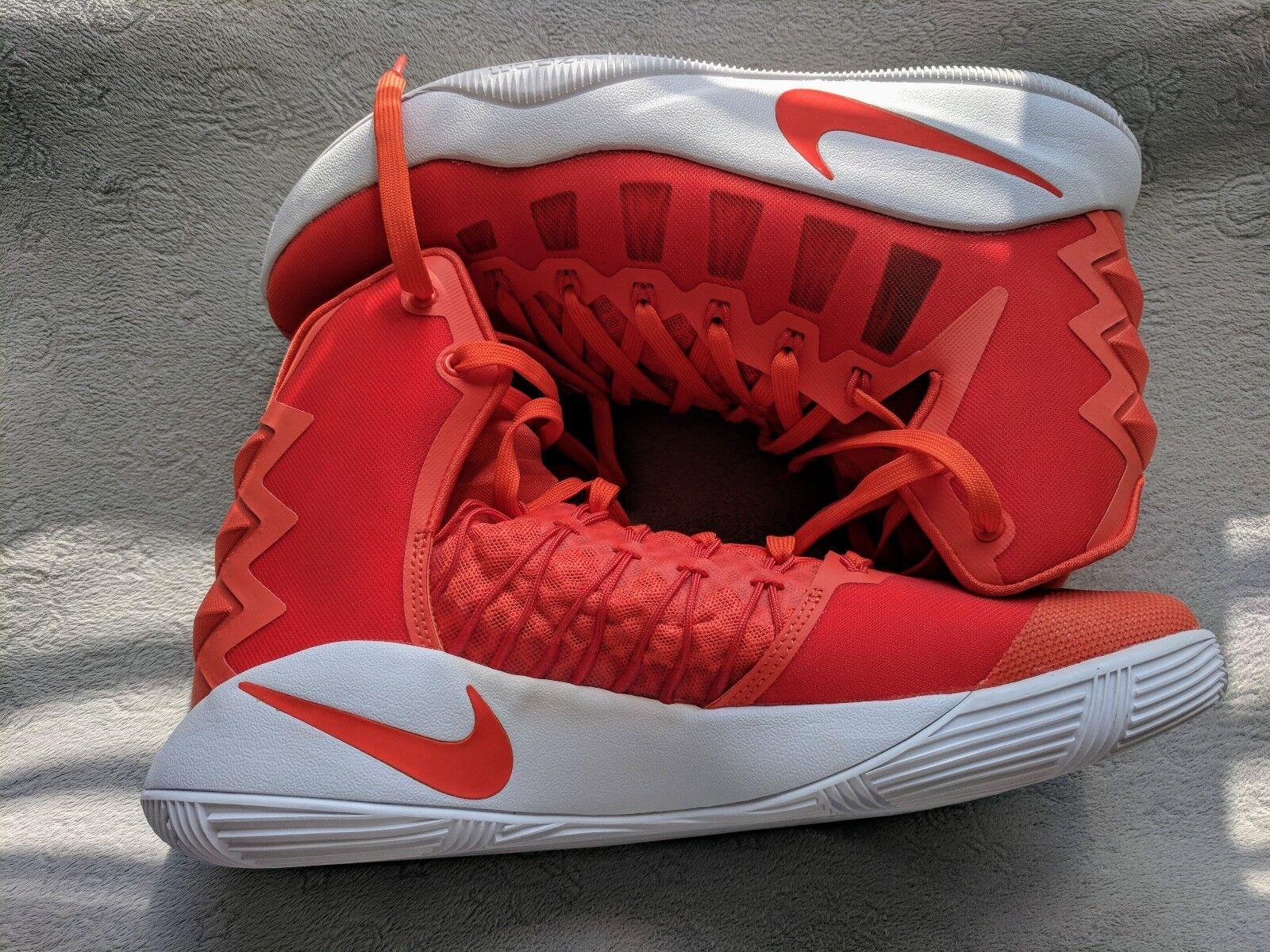 Alta zapatos de TB baloncesto Nike hyperdunk 2018 TB de 844368 881 comodo de color naranja - blanco ed5b1f