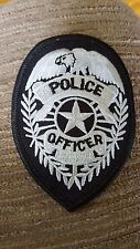 Police Badge Patch, Law Enforcement Patches