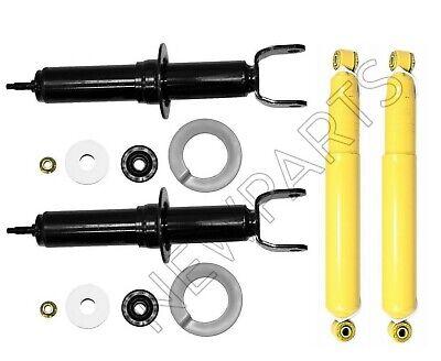 For Dodge Ram 1500 RWD Front /& Rear Shocks Struts Absorber Monroe Reflex Kit