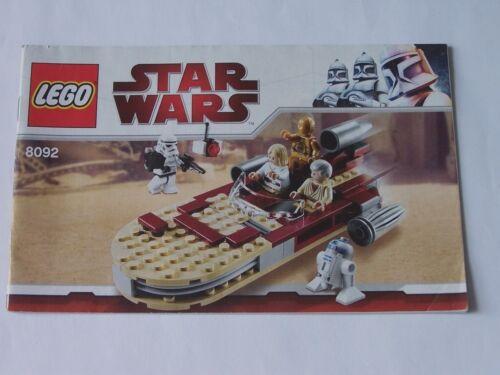 LEGO® Bauanleitung Instruction Nr 8092