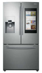 Samsung RF265BEAESR 24 cu.ft. Capacity 3 Door French Door Refrigerator stainless