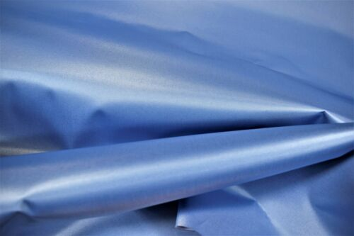 "Columbia Blue Poly Pro Twill Jersey Sportswear Apparel Craft Fabric 50/"" Wide"