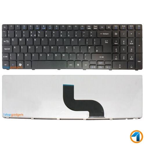 New For Acer Aspire 8942 8942G 5810 5810T Series Laptop UK Keyboard Black