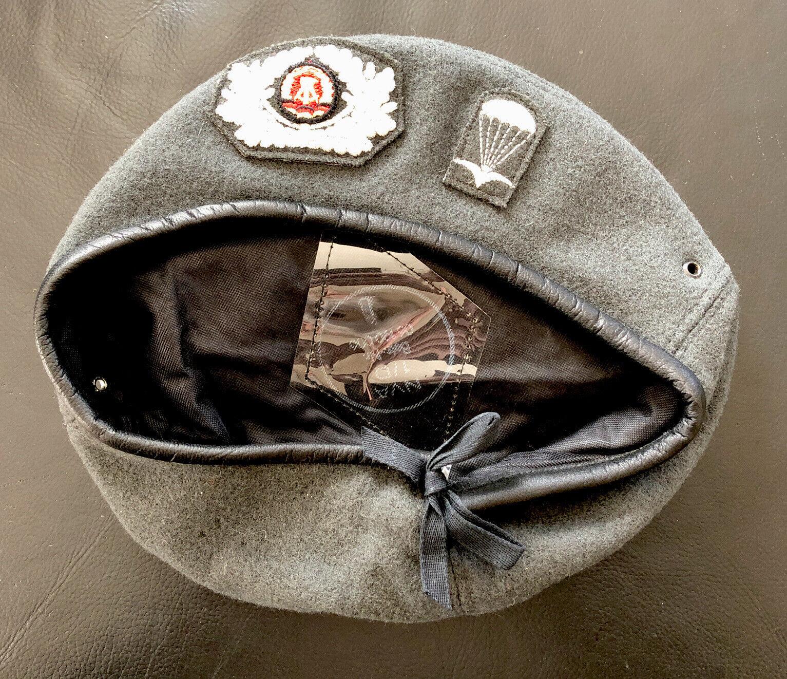 Bild 1 - DDR-NVA-Uniform-Fallschirmjaeger-Barett-grau