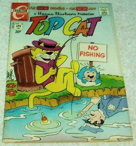 Hanna-Barbera Top Cat 10, VF (8.0) 1972 Charlton! 50% off ...