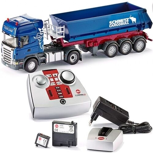 Siku TRATTORE SCANIA kippsattelauflieger  Camion Telecouomodo 6725 Control 1 32  best-seller