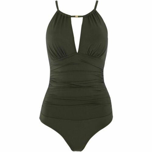 Biba Womens Icon Highneck swimsuit Beach Swimsuit