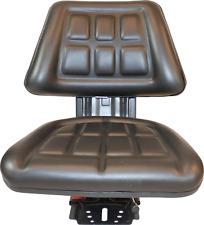 Black Tractor Suspension Seat Fits International Harvester 674 684 685