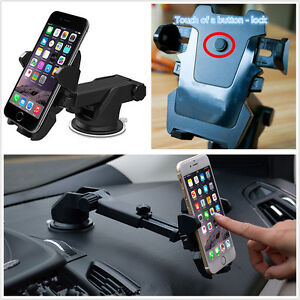 New-One-Touch-2-Car-Windscreen-Dashboard-Holder-Mount-For-GPS-PDA-Mobile-Phone
