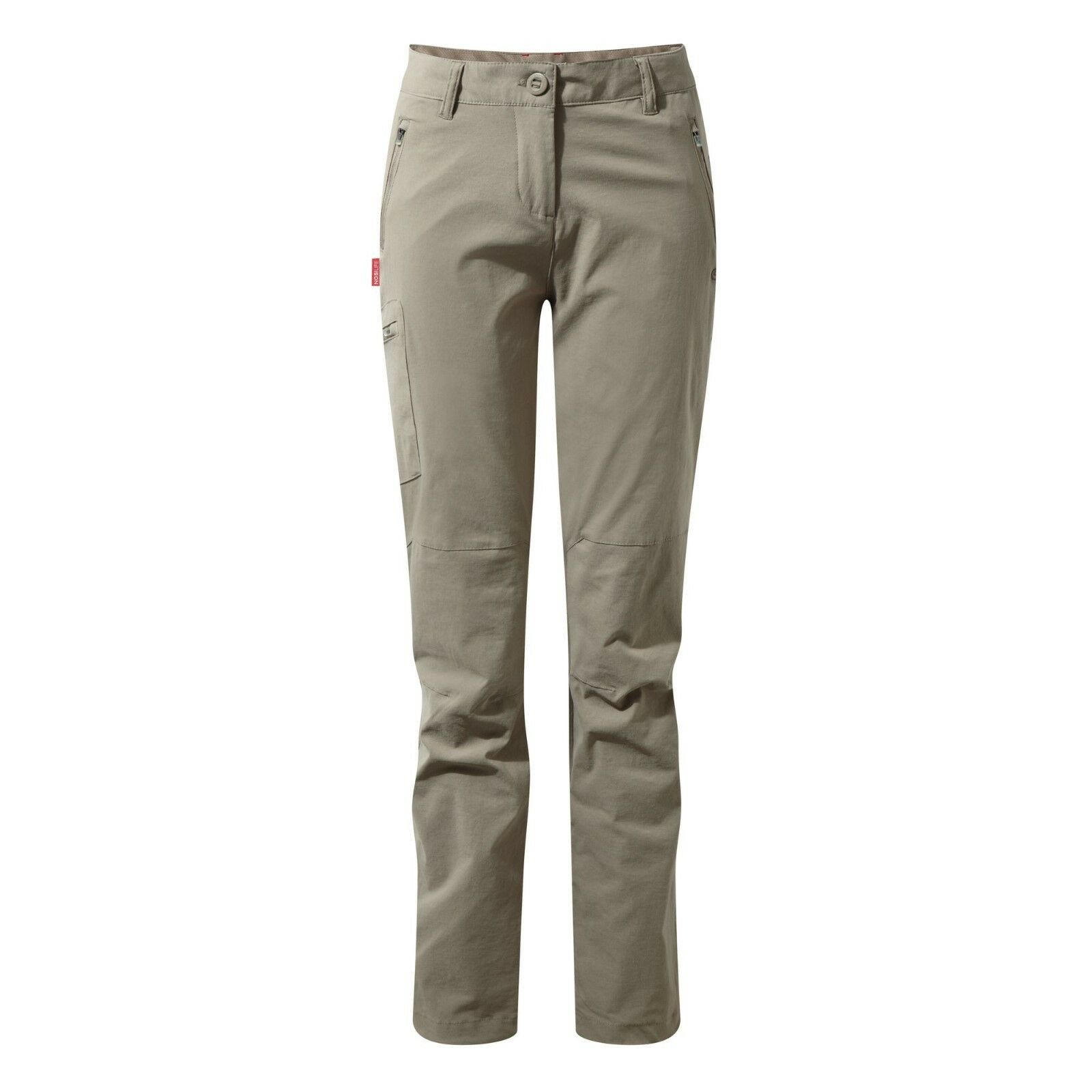 Craghoppers Women's Nosilife Pro Walking Trousers (Reg Leg) - Mushroom