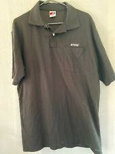 Husqvarna Mens Oxford Button Down Shirt Embroidered Crown H Logo NWOT Chainsaw