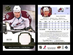Paul-Stastny-2011-12-UD-The-Cup-Gold-Patch-10