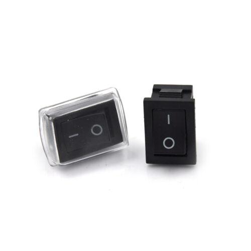 Abdeckung Fit Armaturenbrett Dash Ew 5X 2 Pin On//Off Wasserdichte Wippschalter